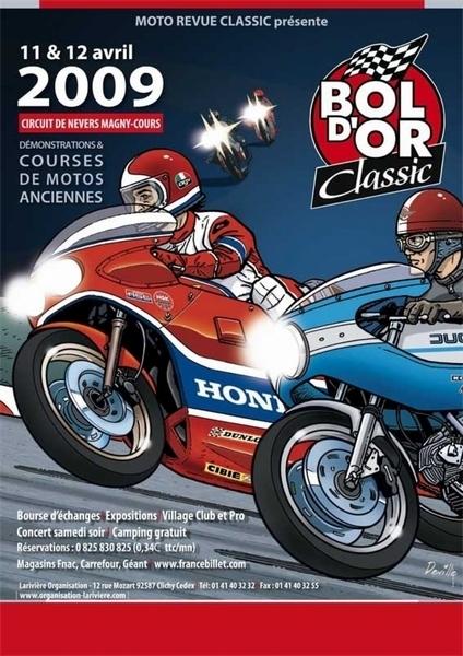 Bol d'Or Classic 2009 : Les 11 et 12 Avril à Magny-Cours