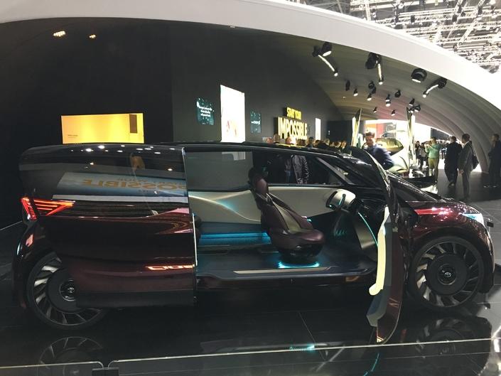 Toyota Fine Comfort Ride Concept : monospace du futur - En direct du salon de Genève 2018