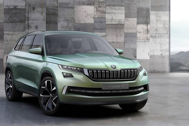 Salon de Genève 2016 - Skoda VisionS Concept : le futur SUV sept places tchèque