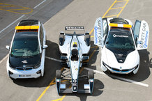 La BMW i8 safety car en Formula E