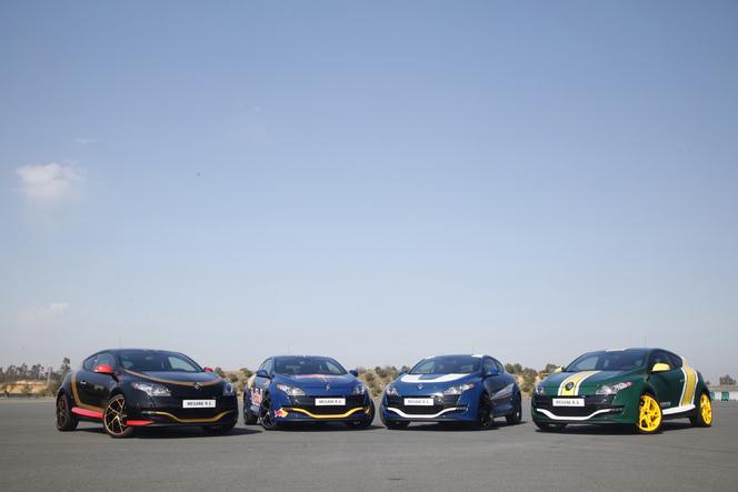 La Renault Mégane RS se met aux couleurs de la F1!