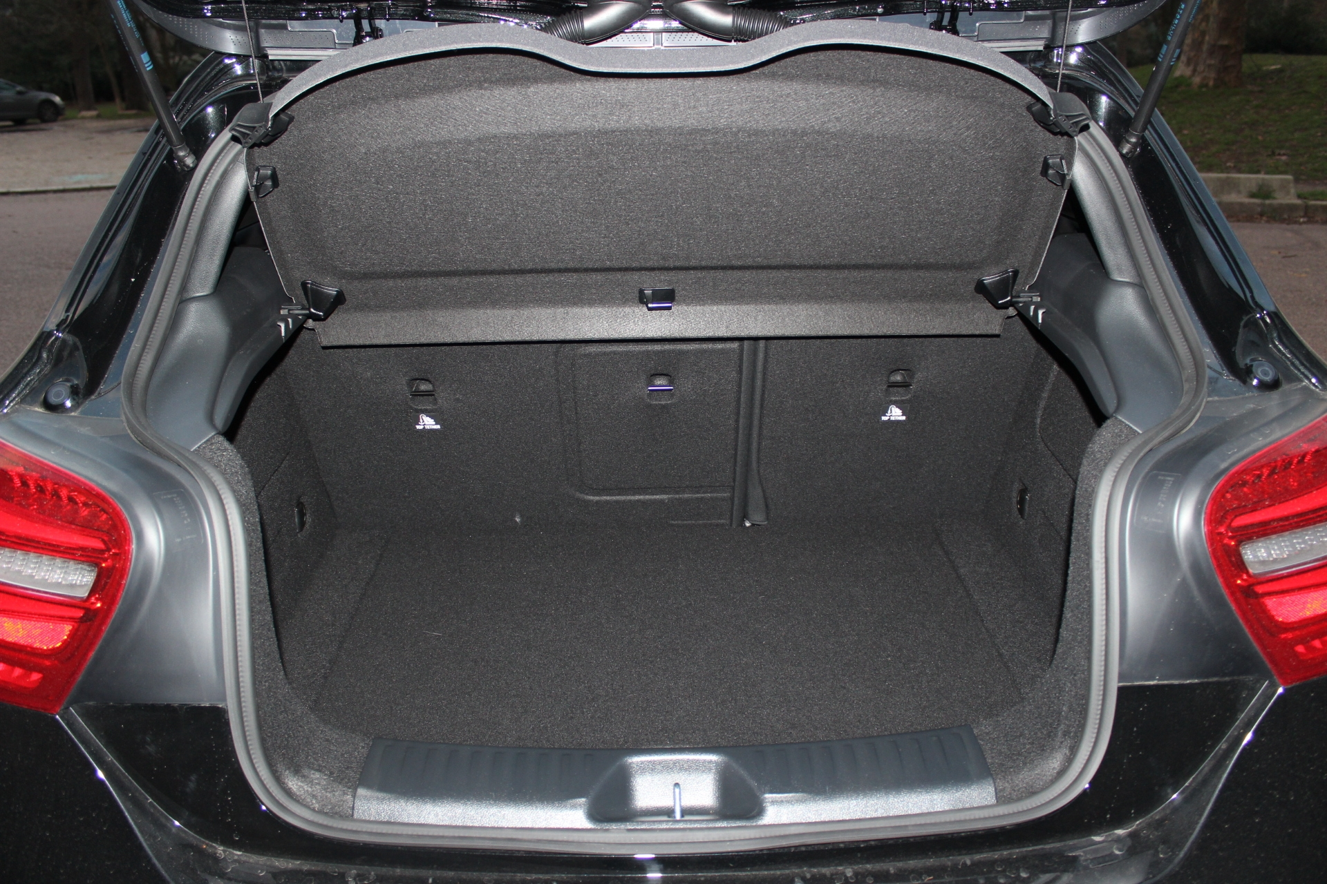 Mercedes Classe C Volume Coffre