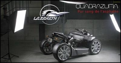 Quadrazuma : le quad vu par Lazareth