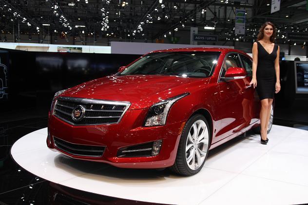 Vidéo en direct de Genève : Cadillac ATS, l'ambitieuse