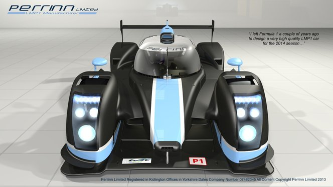 Perrinn Limited: une LMP1 franco-anglaise pour 2014
