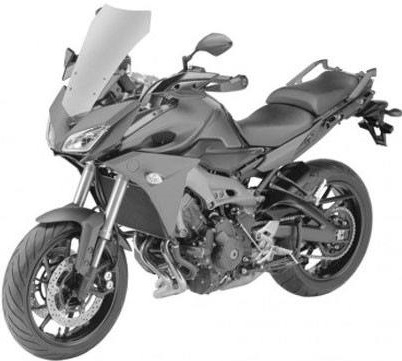 Nouveauté – Yamaha: la MT-09 prend de la hauteur