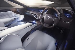 Salon de Genève - Lexus LF-FC concept : future berline à hydrogène
