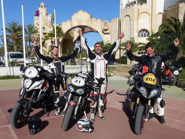 Moto Tour Series Tunisie: Jérémy Barnoin gagne le millésime 2018