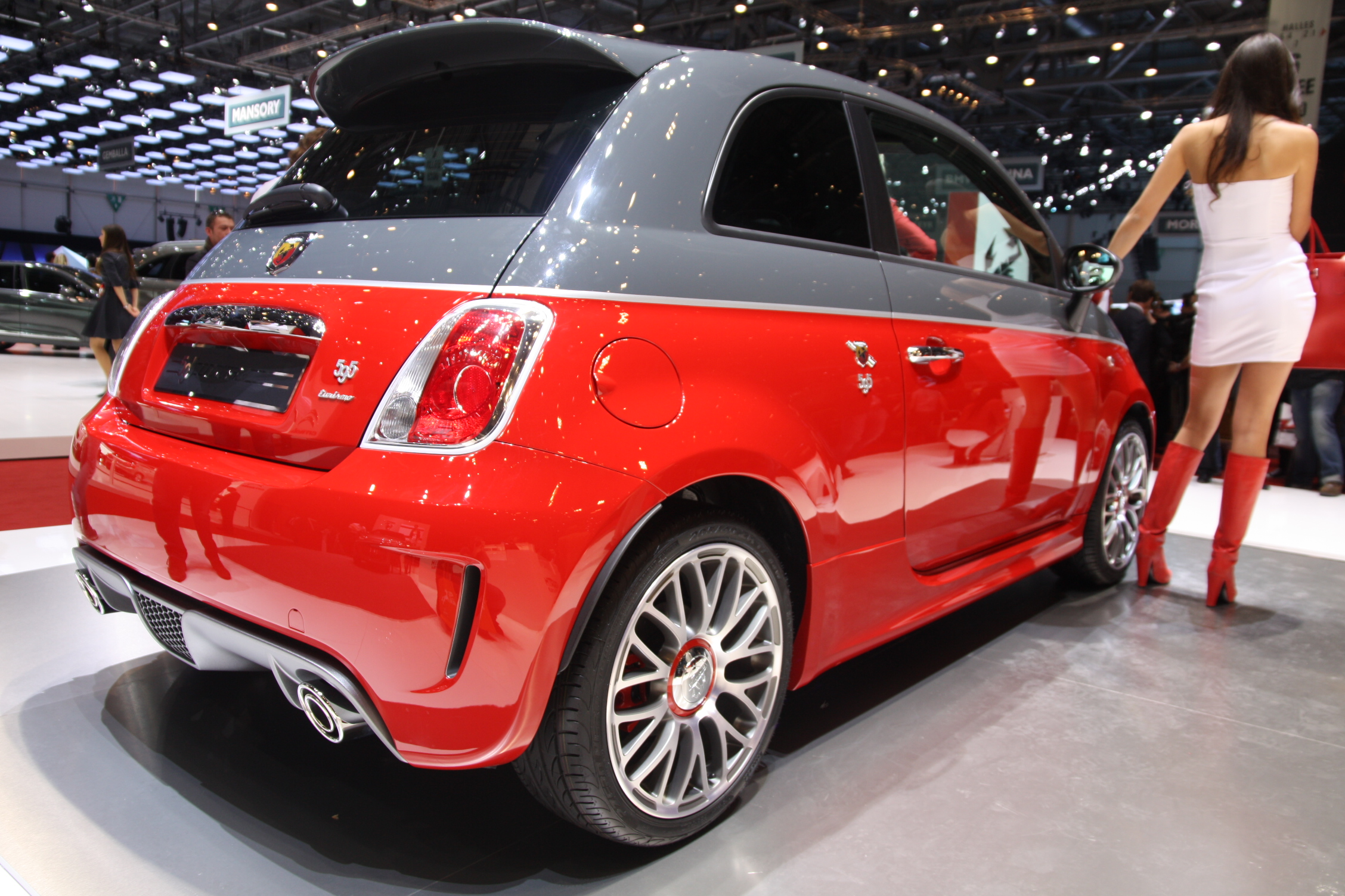 En Direct De Gen 232 Ve Abarth 595 Turismo Et Competizione