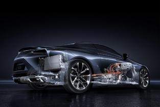 Salon de Genève - Lexus LC500h : hybride racée