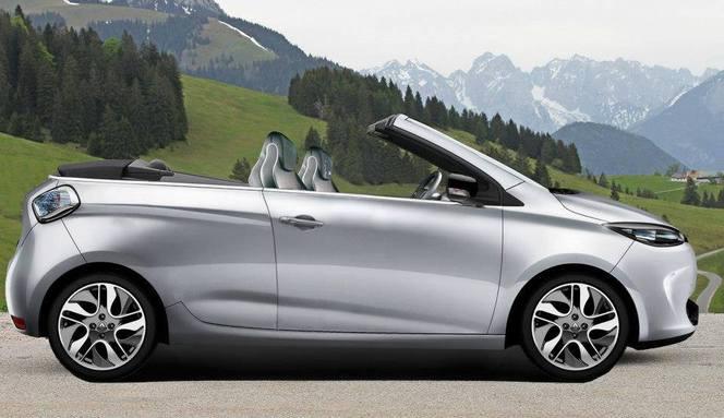 Renault Zoé cabriolet : ça vous plairait ?