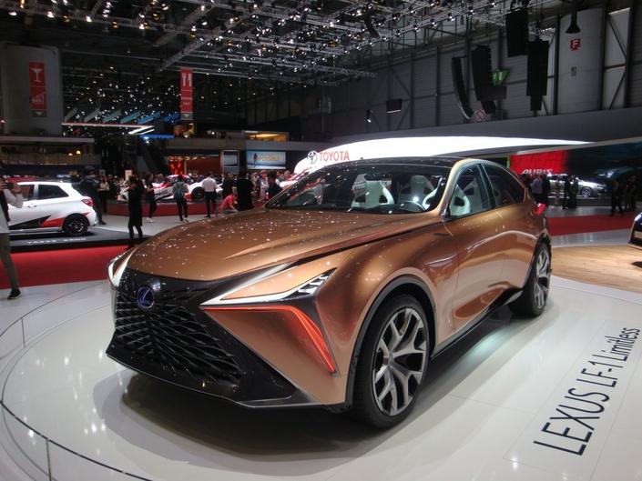 Lexus LF-1 Limitless : le SUV GT - En direct du Salon de Genève 2018