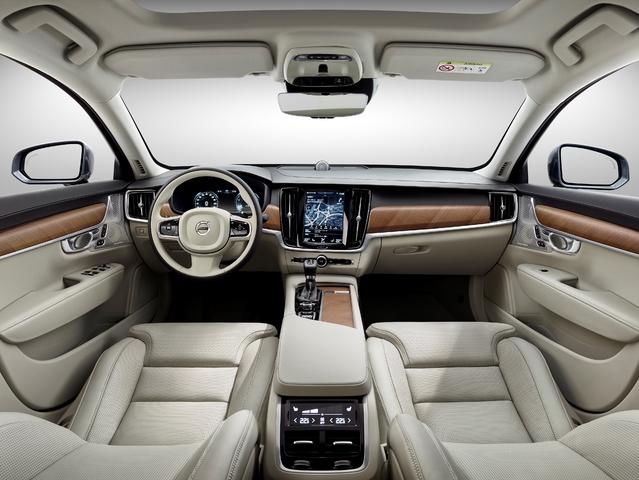 Salon de Genève 2016 : Volvo officialise la V90