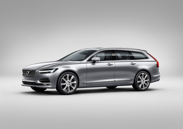 Salon de Genève 2016 : Volvo officialise la V90