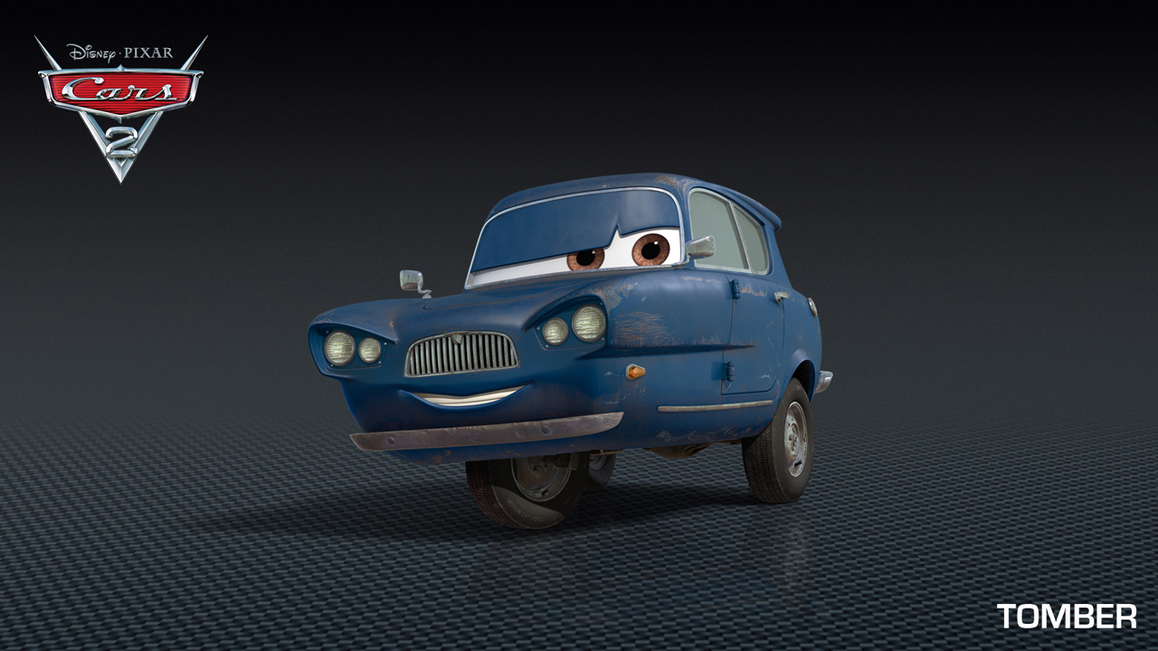 Cars 2 : une vieille Anglaise