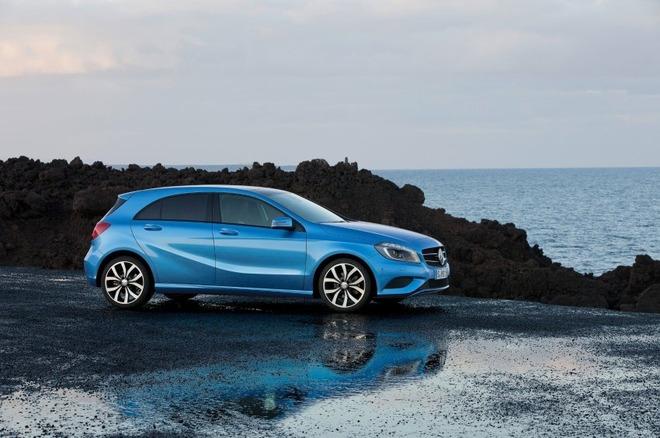 Voici les premières photos de la nouvelle Mercedes Classe A