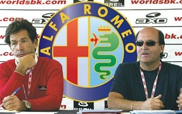 Superbike: Alfa Romeo s'implique et soutient Ducati