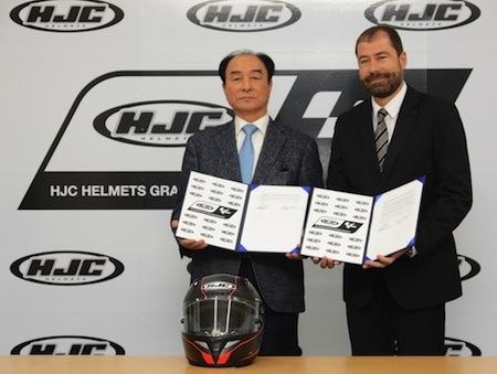 HJC sponsor du prochain Grand Prix de Brno. 7 pilotes sous contrat en 2016