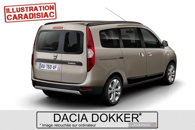 Un ludospace Dacia à la fin de l'année