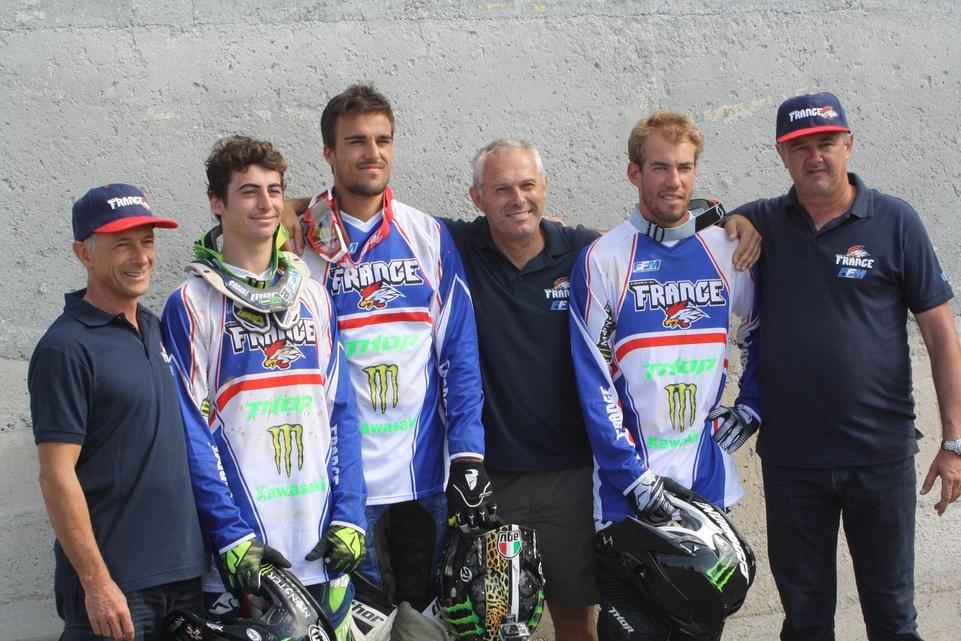 Motocross des Nations 2014 : l'équipe de France s'est rassemblée à St Jean d'Angely