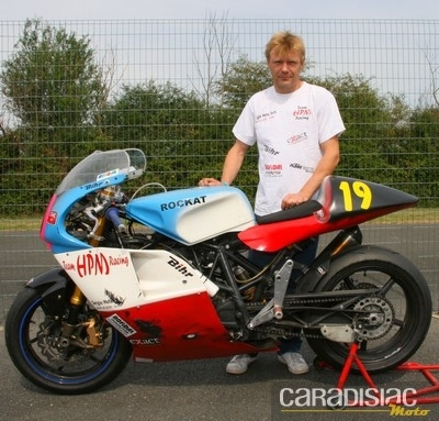 Interview de Laurent Guignat, 5ème du Tourist Trophy, et vainqueur du Challenge des monos 2010 deux courses avant la fin de saison…
