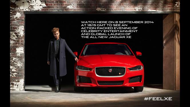 La Jaguar XE présentée le 8 septembre en direct sur internet
