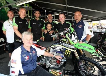 CLS Kawasaki et Pro Circuit s'associent pour l'avenir