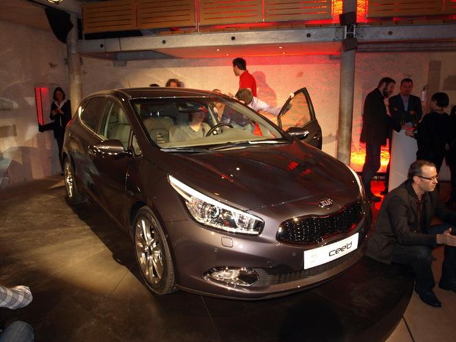 Salon de Genève 2012 : Kia Cee'd 2