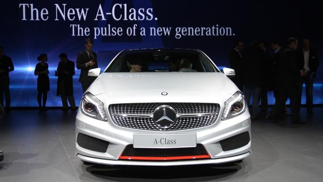 En direct du salon de Genève : la Mercedes Classe A fait sa révolution