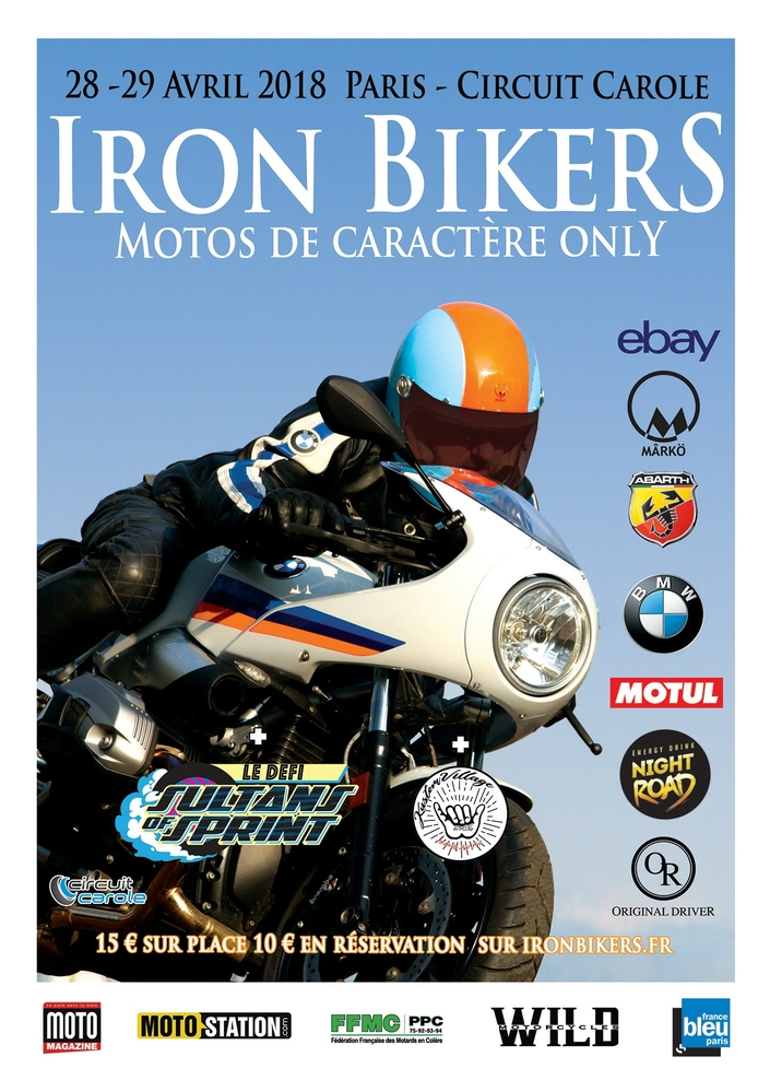 Iron Bikers 2018: billetterie ouverte