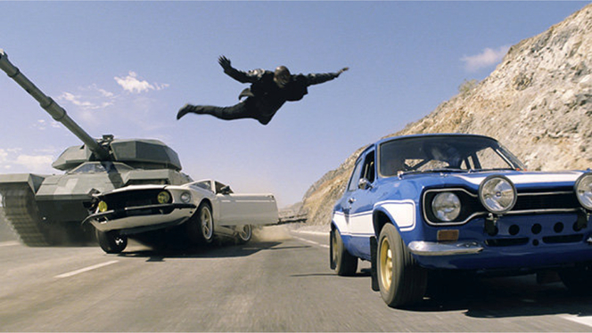Fast and Furious 6 : un carnage automobile impliquant 400 voitures