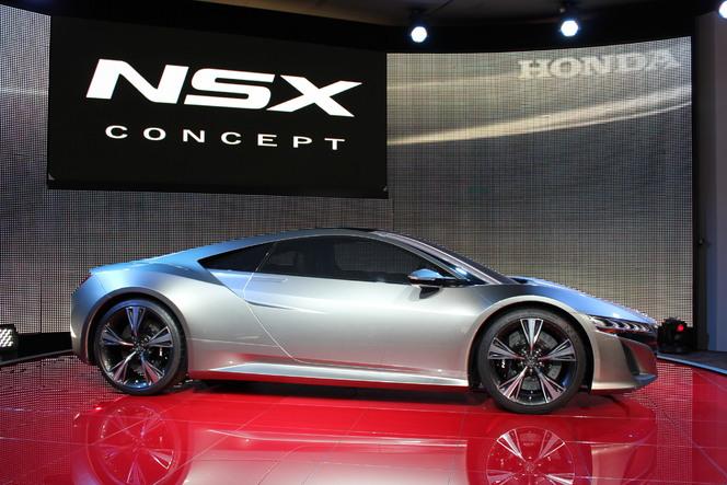 En direct de Genève : Honda NSX Concept : le retour d'une légende