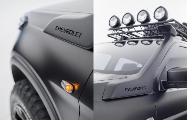 Moscou 2014 : le Chevrolet Niva Concept en plus clair ... mais de trop près
