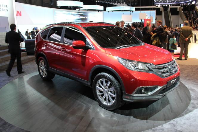 Geneve 2012 : Honda CR-V Prototype en video  : dans la continuité