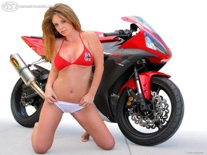 Moto & Sexy : au naturel