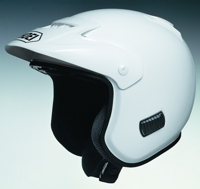 Casque trial: le Shoei TR-3.