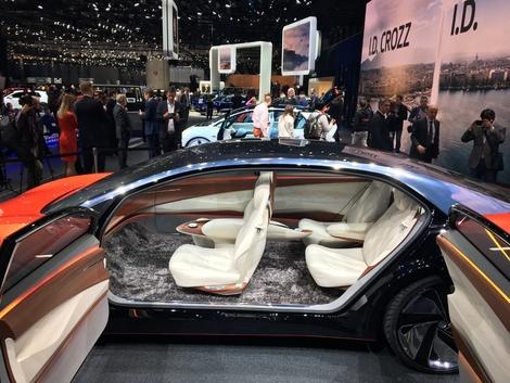 Le Concept I.D. Vizzion est la seule actualité proposée par Volkswagen.