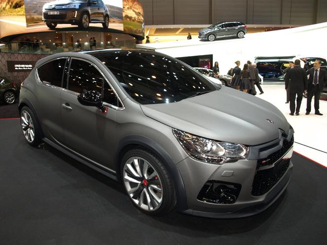 Salon de Genève 2012 - La Citroën DS4 R concept en vidéo
