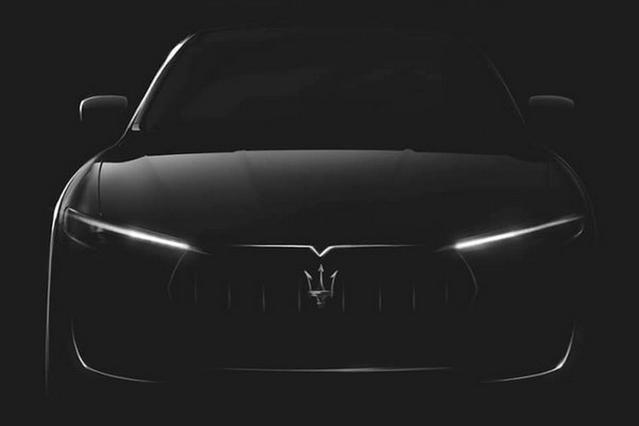 Salon de Genève : le Maserati Levante en teaser
