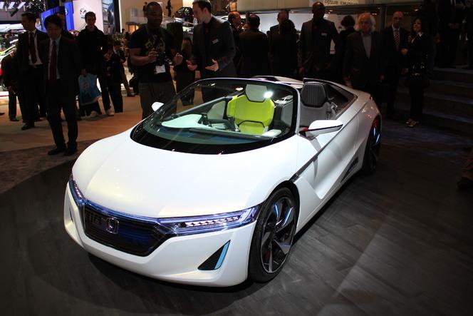 En direct de Genève 2012 : Honda EV-Ster