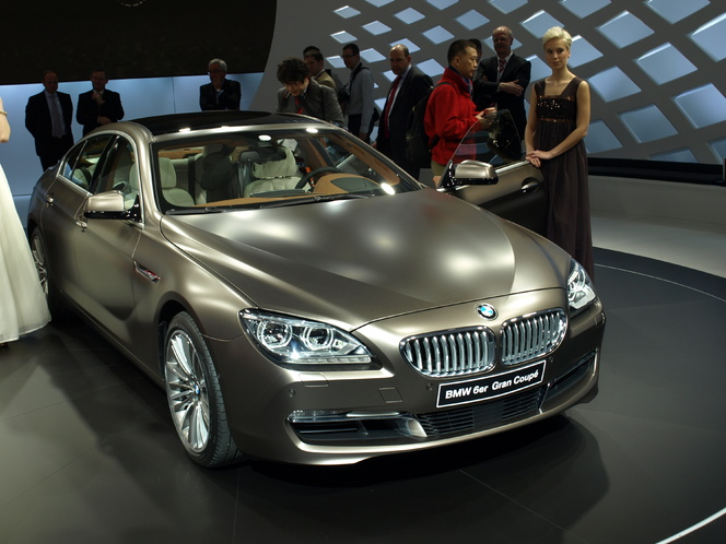 Salon de Genève 2012 : BMW Serie 6 Gran Coupe