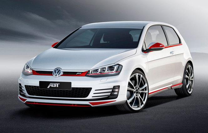 Nouvelle Volkswagen Golf GTD par ABT