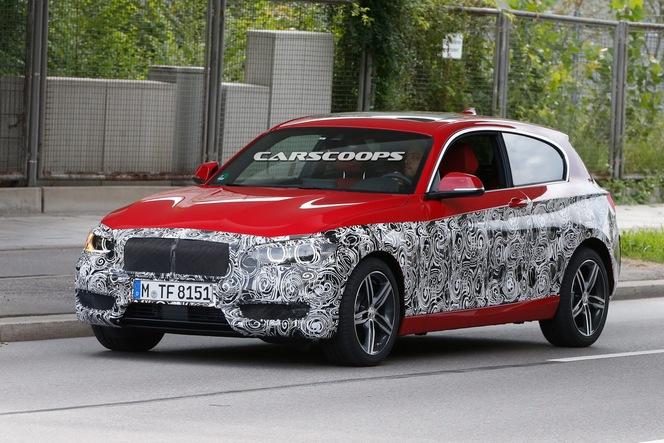 Facelift en vue pour la BMW Série 1