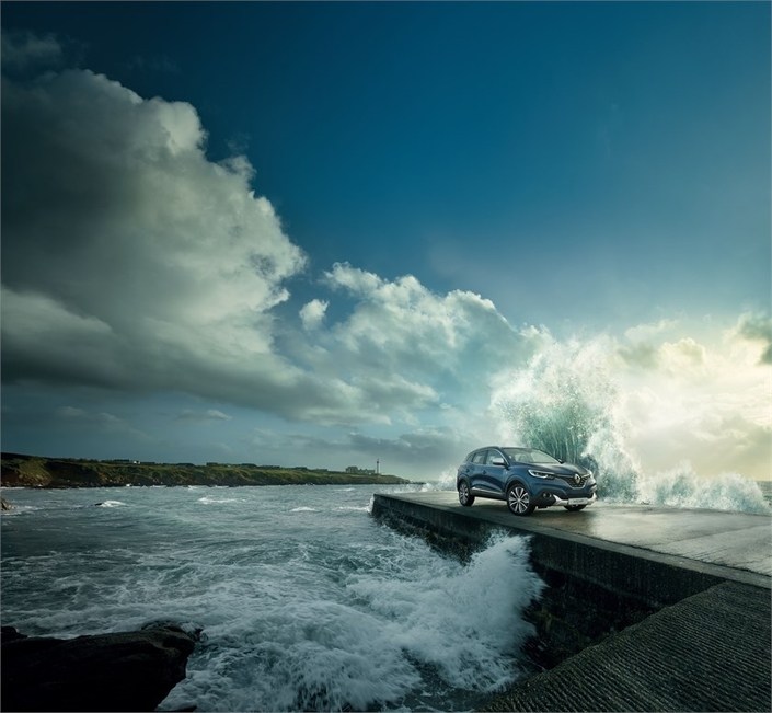 Renault rhabille le Kadjar à la mode bretonne avec Armor-Lux