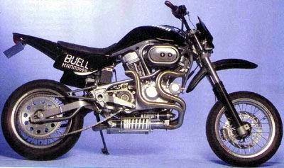 Buell : prototypes de super-motard et autres Trail