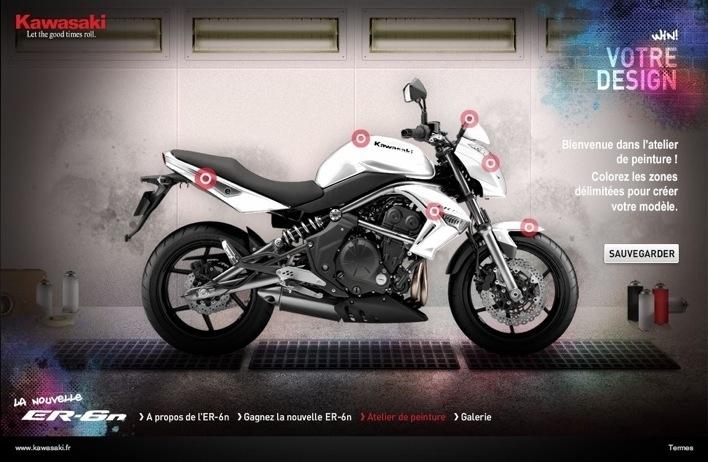Concours de tuning : Kawasaki lance le Design Contest