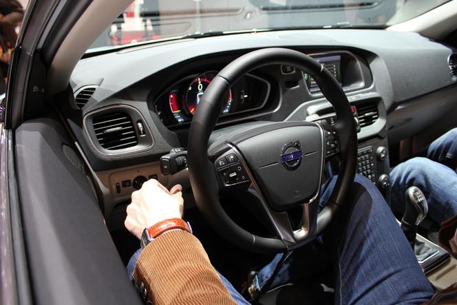 Vidéo en direct du Salon de Genève - Volvo V40 : belle réussite