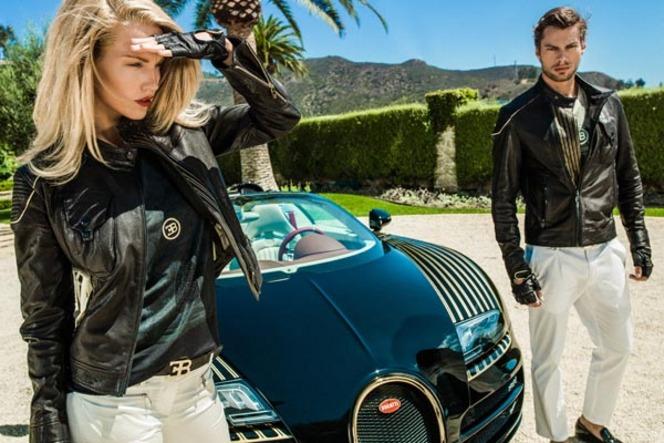 Une collection de vêtements signée Bugatti