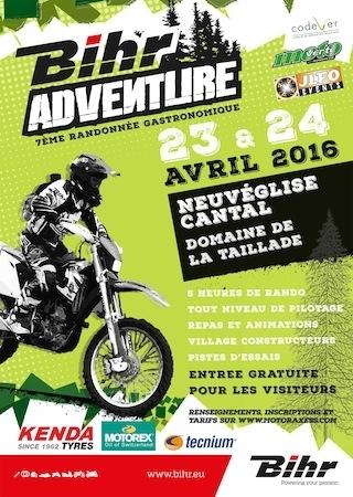 Troisième édition du Bihr Adventure: fin avril dans le Cantal
