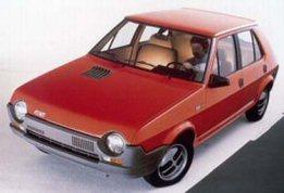 Le retour de la Fiat Ritmo...